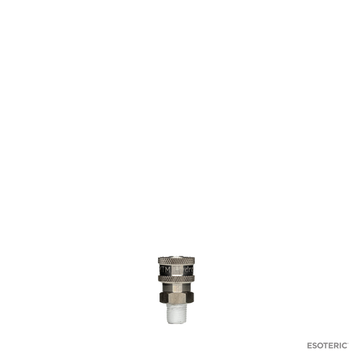 "MTM Hydro Stainless Quick Connect Socket (Male 1/4"")"