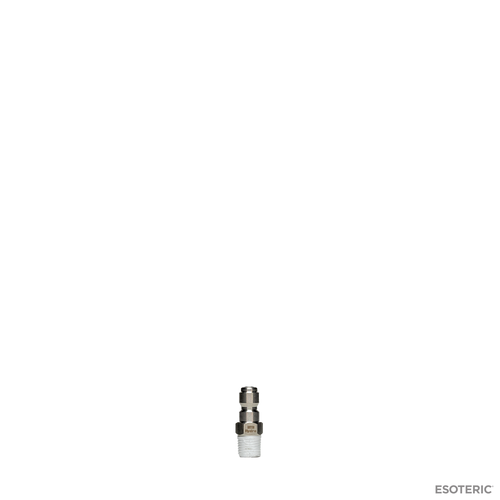MTM Hydro Stainless Quick Connect Plug (1/4 inch, Male threads)