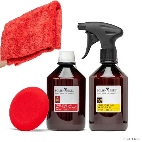 POLISHANGEL Master Sealant and POLISHANGEL Rapidwaxx Sealant and Wax Kit
