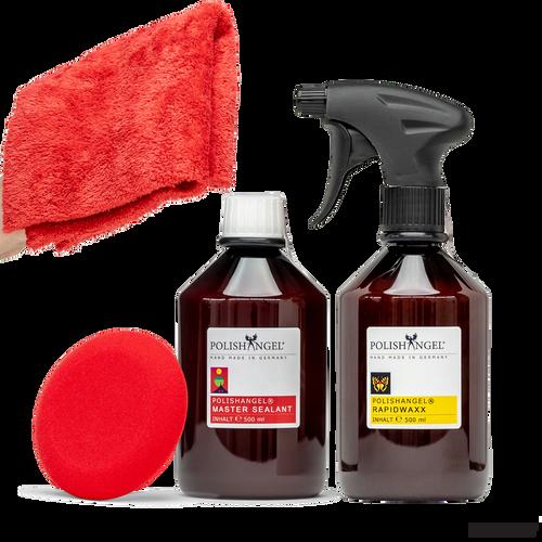 POLISHANGEL Master Sealant and POLISHANGEL Rapidwaxx Sealant and Wax Kit