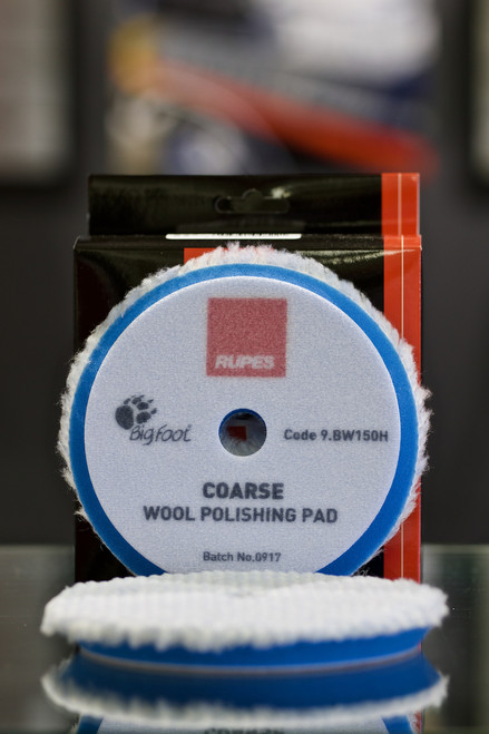 Rupes Coarse Blue Wool Compounding Pad