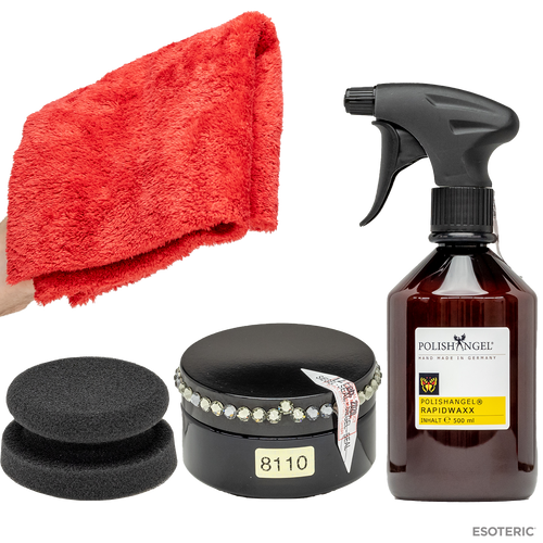 POLISHANGEL Jubilee Carnauba Wax + Rapidwaxx Spray Wax Ultimate Wax Kit
