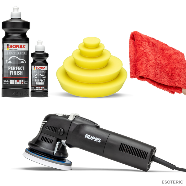 Esoteric Rupes LHR12 Duetto One-Step Polishing Kit