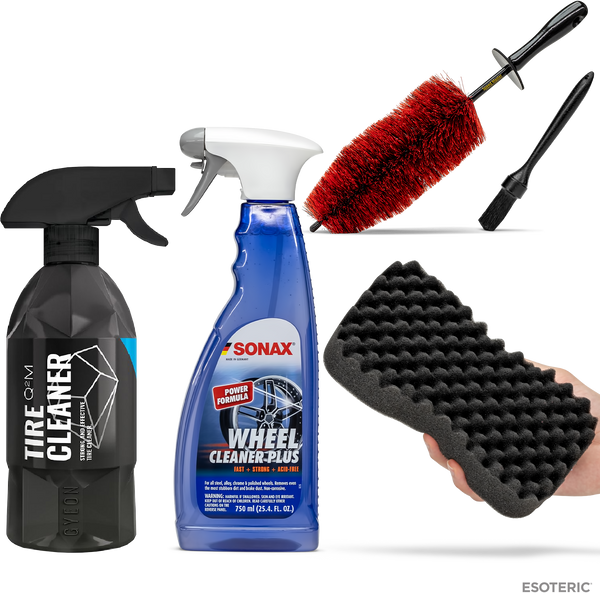 Esoteric Essential Car Wheel Cleaning & Care Kit
