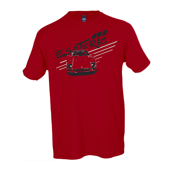 Esoteric F40 T-Shirt. Front