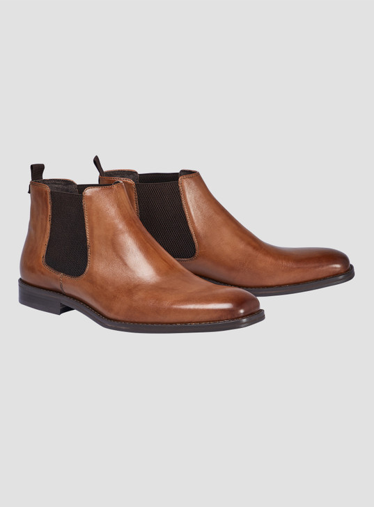 JOHNNY BIGG MORGAN LEATHER CHELSEA BOOT