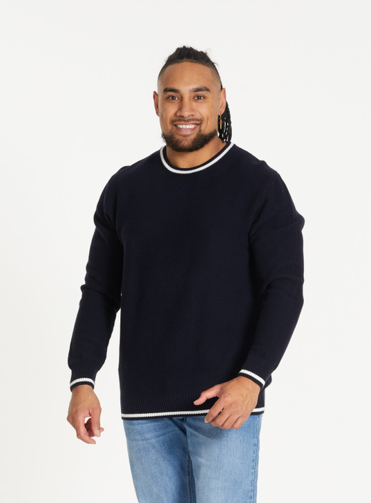 ARCHER TIPPED SWEATER