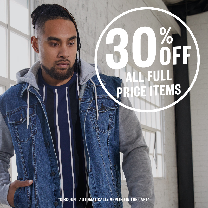 30% Off Everything, Sitewide including jackets, pants, boots, hoodies and more | Johnny BIGG USA