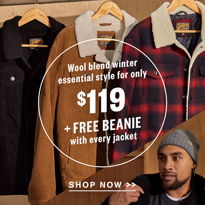 30% Off Everything, Sitewide including jackets, pants, boots, hoodies and more   Johnny BIGG USA