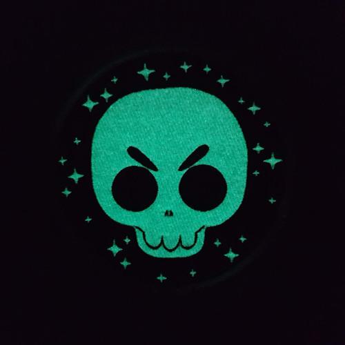 Glow in the Dark Skull Patch!