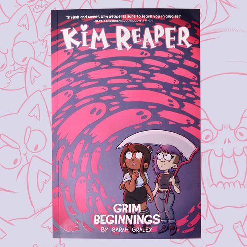 Kim Reaper: Grim Beginnings (Volume 1) Graphic Novel
