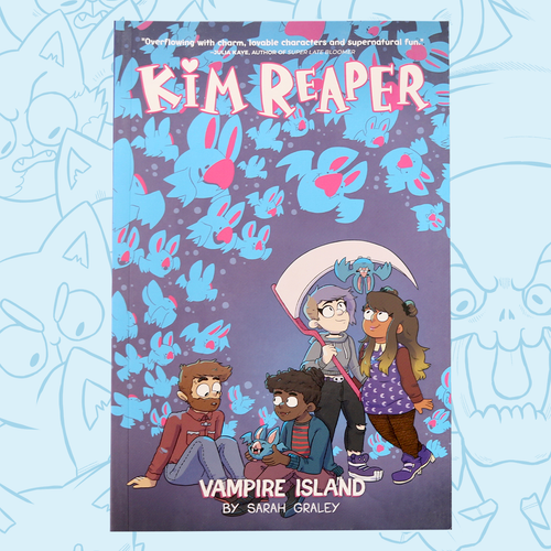 Kim Reaper: Vampire Island (Volume 2) Graphic Novel
