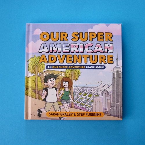 Our Super American Adventure Book