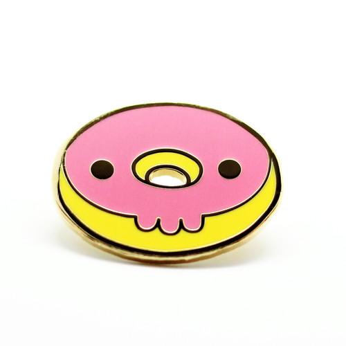 Skull Donut - Pink