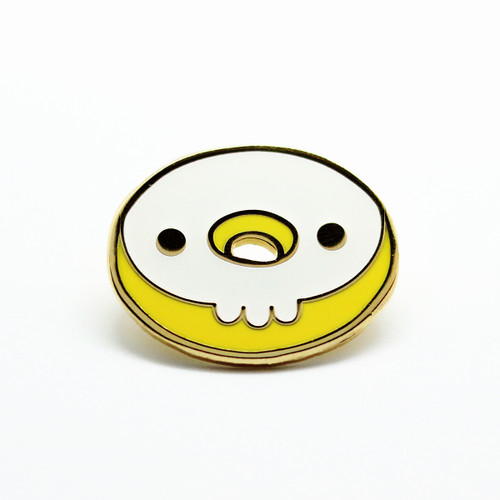 Skull Donut - Glow In The Dark
