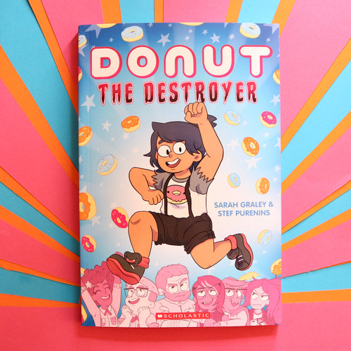 Donut The Destroyer Graphic Novel