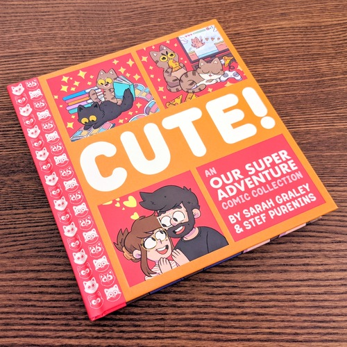 Our Super Adventure Vol. 3: Cute! Book