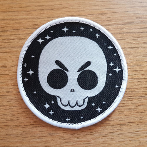 Glow in the Dark Skull Patch!