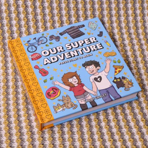 Our Super Adventure Vol. 1: Press Start To Begin Book