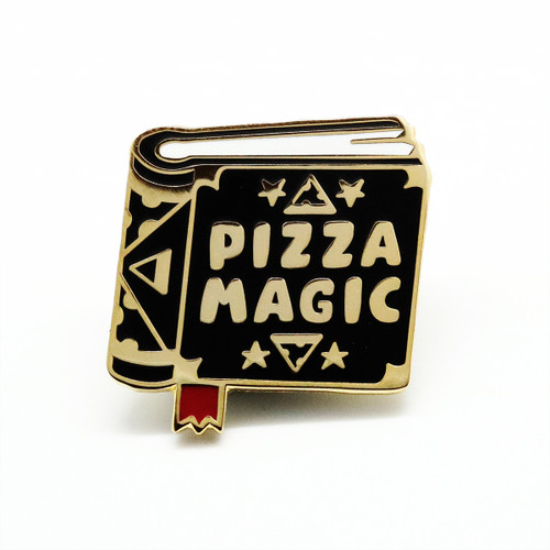 Pizza Magic Enamel Pin