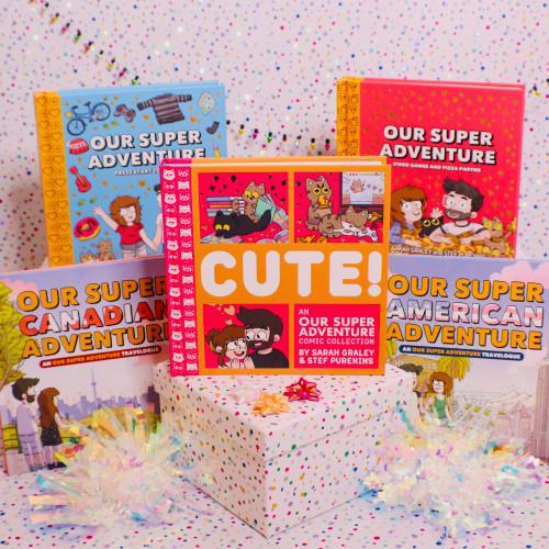 Our Super Adventure Five Book Bundle