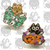 Trick or Treat Cats (Two Enamel Pin Set)
