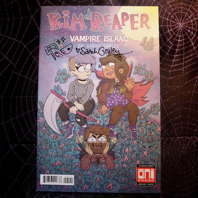 Kim Reaper - Vampire Island Issue #1