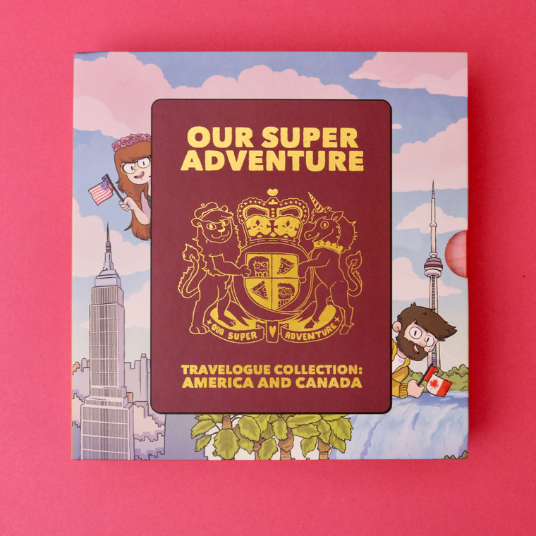 Our Super Adventure Travelogue Collection: America and Canada Boxset