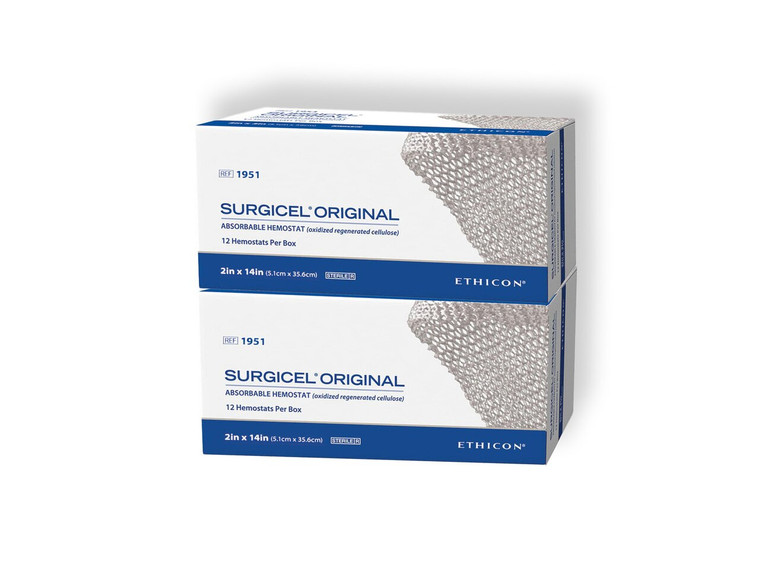"Surgicel 1951 - Original Absorbable Hemostat: 2"" x 14"""
