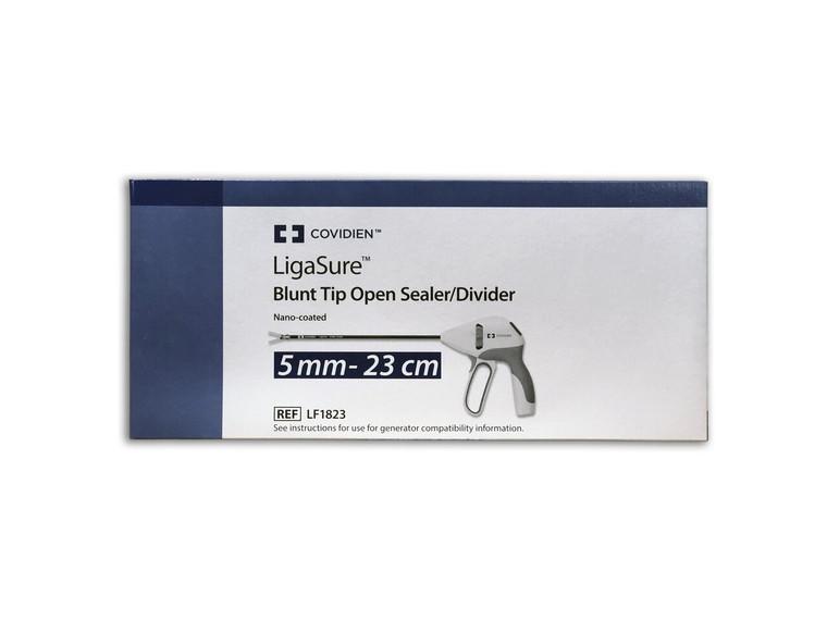 Covidien LF1823 - LigaSure Blunt Tip 23cm Open Sealer/Divider, Nano-Coated - Each