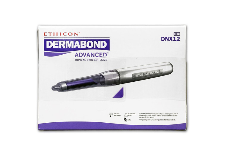 Dermabond DNX12 - Advanced Topical Skin Adhesive 0.7ml - Box of 12