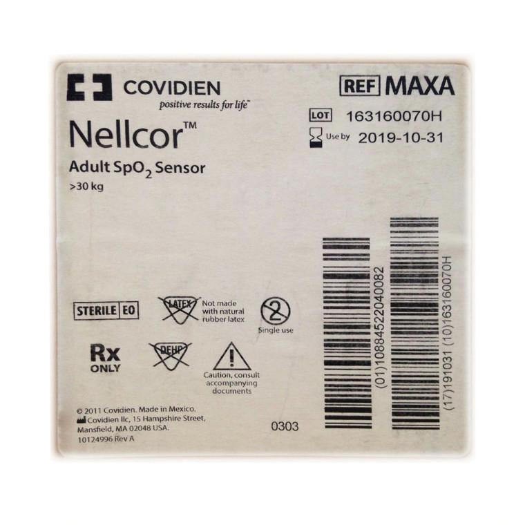 Covidien MAXA - Nellcor Adult SpO2 Sensor >30kg