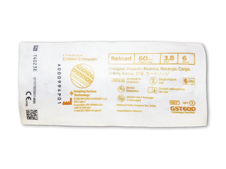Ethicon GST60D - ECHELON ENDOPATH™ Reload (60mm) Gold