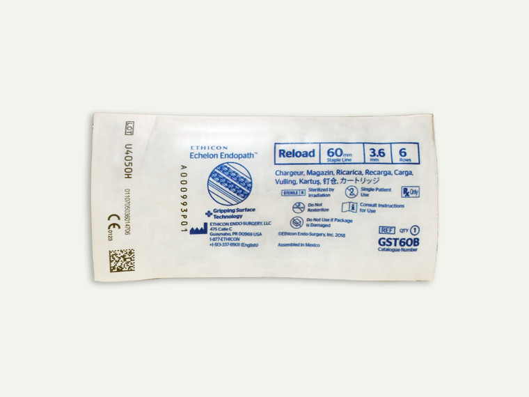 Ethicon GST60B - ECHELON ENDOPATH™ Reload (60mm) Blue