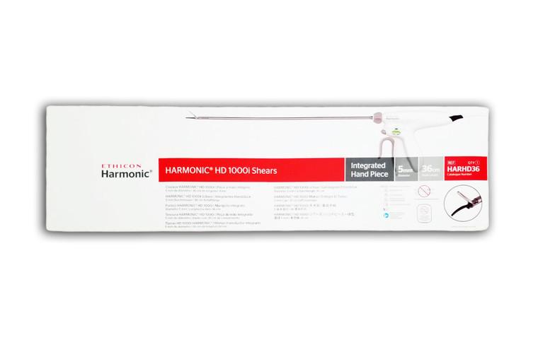 Ethicon HARHD36 - HARMONIC® HD 1000i Shears (5mm x 36cm) - Box of 1