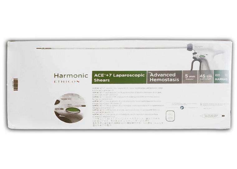 HARH45 - Ethicon HARMONIC ACE®+7 Shears with Advanced Hemostasis (5mm x 45cm)