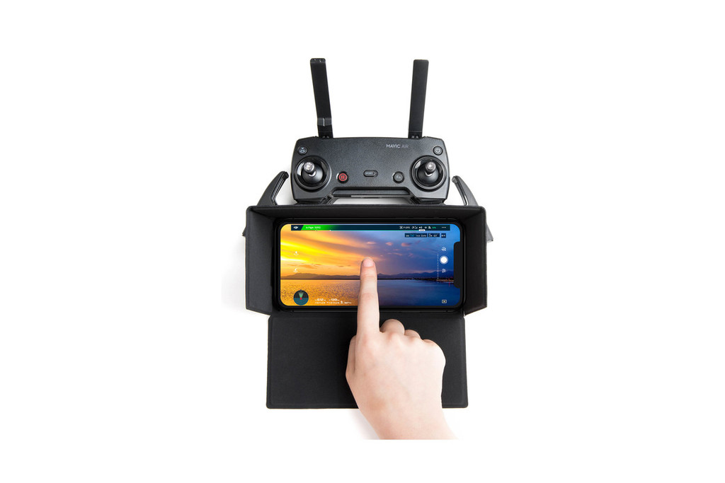 Smartphone Screen Hood for Remote Controller