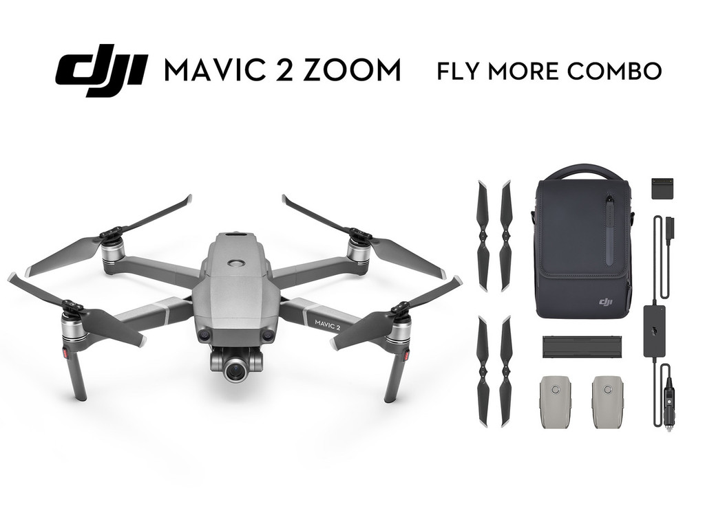Mavic 2 Zoom Fly More Combo
