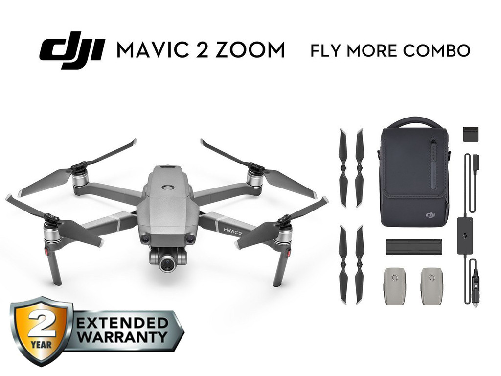 Mavic 2 Zoom Fly More Combo - MARCH CARE Premium Package