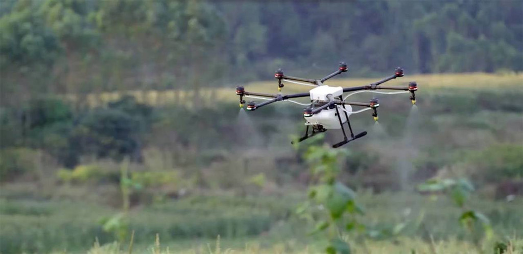 Agras MG-1S Agriculture Spraying Drone