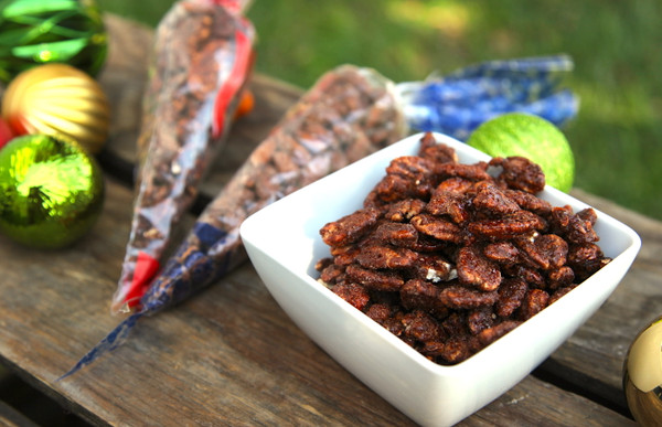 Robertson's Roasted Pecans - Cone