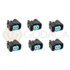 6x Connector 2 pin 2-way  Honda Fuel injector 06164-P8A-A00 w/out wire
