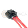 1x Connector 5 pin 5-way for Air Flow Meter Audi VW 4H0 973 715