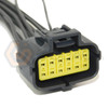 1x Connector 12-way 12 pin for Transmission Range Sensor WPT-996