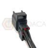 1x Male Connector 4-way 4 pin for O2 Oxygen Sensor SG1849