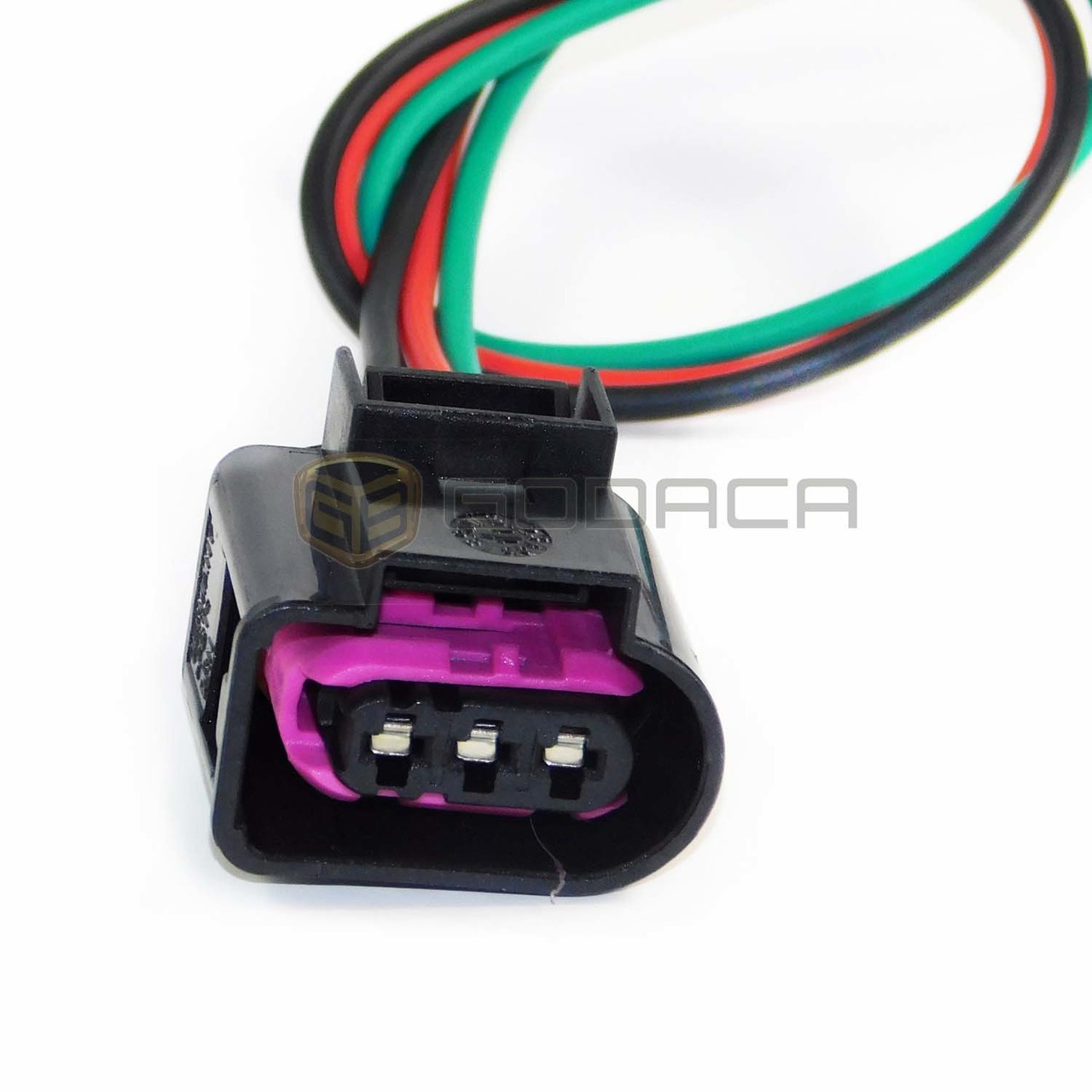 1x Connector Wiring Harness 3 pin 3-way for Audi Volkswagen - Godaca on terminal block pin connector, tube pin connector, 10 pin connector, 6 pin molex connector, power supply pin connector, obd 16 pin connector, 14 pin connector, spring pin connector, ecu pin connector, pcb pin connector, seal pin connector, speaker pin connector, plug pin connector,