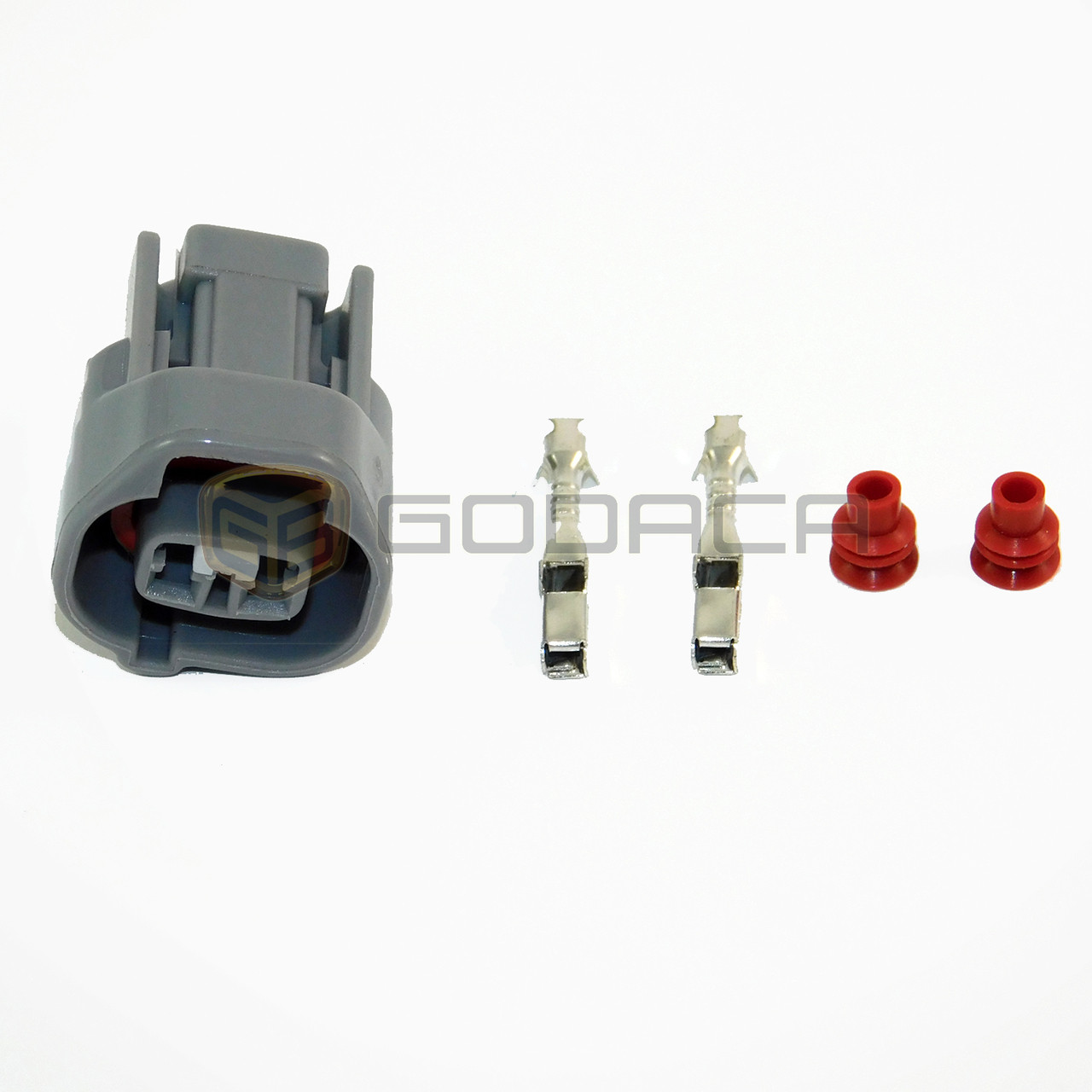 1x2 pin connector for toyota lexus sensor 90980 11156 w out wire husqvarna wiring harness connectors 1x2 pin connector for toyota lexus sensor 90980 11156 w out wire