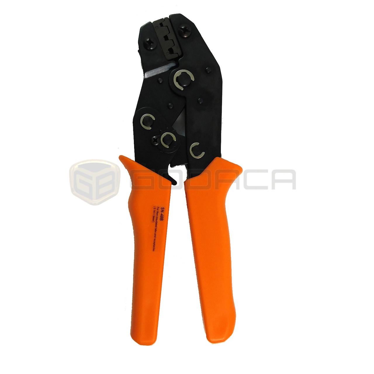 1x crimping tool sn-48b for molex deutsch pin 0 5mm 1 0mm 1 5mm - godaca,  llc