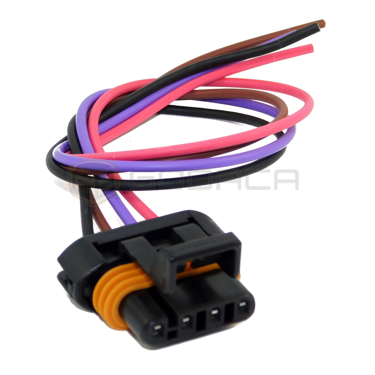 1 x ls1 ls6 ignition coil wiring harness pigtail connector gm camaro corvette Ls6 Wiring Harness 8 ls2 ls3 ls7 ev6 engine wire harness