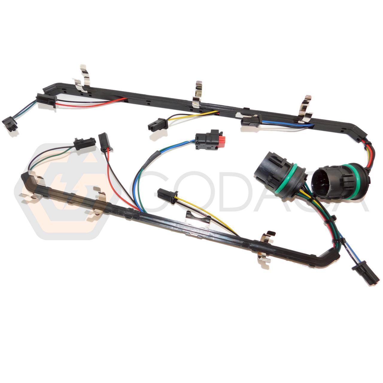 1x wiring harness for ford fuel injector 08-10 6 4l powerstroke diesel -  godaca, llc